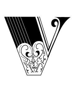 V #typography #graphicdesign #design #lettering #letteringart #art #V #letters #Typedesign