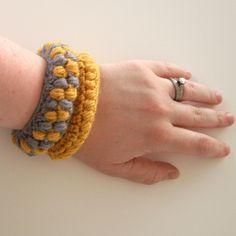 crochet bracelets by TheBoyTrifecta,