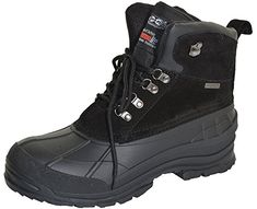 Climate X Mens Waterproof Thermolite Boots,Black,12 >>> Click affiliate link Amazon.com on image to review more details.