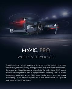 NEW DJI MAVIC PRO! Start capturing amazing footage like this today!  Simply amazing technology. Start taking footage like this today. BUY NOW PAY LATER with finance options as low as 25$ per month. 20% off all accidental crash plans until Christmas. Visit us at https://dynnexdrones.com/