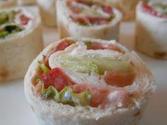 Wrap au saumon fumé : Recette de Wrap au saumon fumé - Marmiton