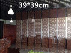 Wood Screen Divider  Hanging Screen partition bedroom wall post entry living room Home decoration  39*39CM-in Screens & Room Dividers from Home & Garden on Aliexpress.com | Alibaba Group