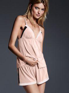 Better together: a soft & sexy cami & short. // Victoria's Secret Cami & Short Set