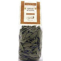 Foglie di Ulivo Olive-Leaf Shaped Pasta from Italy - What better pasta to pair with one of our Italian Extra-Virgin Olive Oils and gourmet sea salts than this classic leaf-shaped pasta, delicately flavored with spinach. Toss with heavy cream and veggies, creamy tomato sauces, or Fresh Basil Pesto.