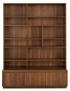 Keaton Bookcase with File Drawers - Modern Bookcases & Shelving - Modern Office Furniture - Room & Board Bookcase Wall Unit, Modern Bookcase, Modern Storage, Bookcase, Office Furniture Modern, Modern Furniture Living Room, Modern, Filing Cabinet Storage, Modern Shelving