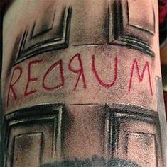 Horror Movie Tattoos, Horror Movies, Future Tattoos, Love Tattoos, Tatoos, Awesome Tattoos, Skull Tattoos, Body Art Tattoos, Geek Tattoos