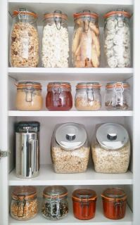 Now I have pantry envy. So organized! So beautiful!