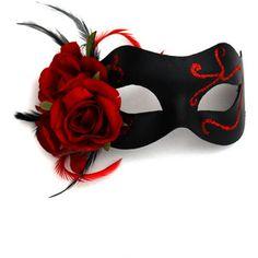 Beautiful Masquerade Masks, Luxury Venetian Masks & Unique Masked Ball Masks, perfect as Prom Masks, Bridal Wedding Masks & Sweet 16 Masquerade Sweet 16 Masquerade, Masquerade Party, Masquerade Masks, Masquerade Decorations, Masquerade Dresses, Ball Decorations, Masquerade Halloween Costumes, Gothic Halloween, Red Mask