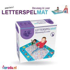 Bestel de letterspelmat op tijd, zodat je hem in huis hebt voor Sinterklaas. (populair product) http://credu.nl/product/letterspelmat/