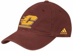 adidas Central Michigan Chippewas Basic Logo Adjustable Slouch Hat by adidas. $15.77. Unstructured fit. Officially licensed collegiate product. Adjustable slide closure. Quality embroidery. 100% Cotton. The Basic Logo hat by adidas is the perfect topper to your Chippewas game day attire! It features an embroidered team logo on the crown for classic CMU style.