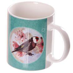 Coffee Mug New Bone China Fun British Birds Design by getgiftideas