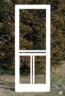 Product Catalog | Wooden Screen Door Co. Front Door With Screen, Wooden Screen Door, Screen Doors, Front Doors, Screened Porch Doors, Maine Beaches, Fixer Upper Decor, Wood Doors, Barn Doors