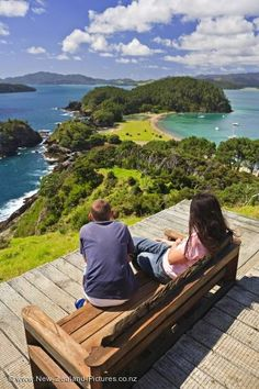 Roberton Island - near Russell & Paihia in the Bay of Islands, Northland, New Zealand. Such beautiful bays, walks, and views.