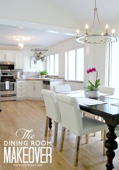 Our 1970's House Makeover Part 10: The Dining Room Reveal!