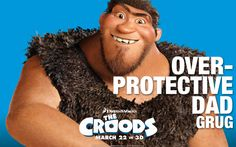 The Croods Grug HD Wallpaper