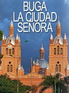 Buga - Valle del Cauca My Land, Beautiful Landscapes, Taj Mahal, Country, City, Building, Travel, Buga, Cartago