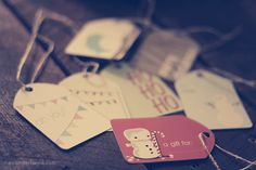 A Gift To You Part Four: Free Gift Tag Printables!   Wonder Forest: Design Your Life.