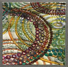 Magenta Pathways by Kathy Downie