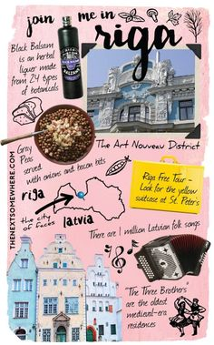 """""""Whereabouts"""" presents Riga, Latvia. Here are the top five things to do and some honorable mentions when visiting the picturesque Baltic city. Top Five, Stuff To Do, Things To Do, Riga Latvia, Academy Of Sciences, Journal Design, Layout Inspiration, The Next, Hotel Spa"""