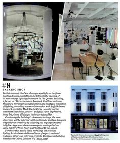 Our Westbourne Grove store in Elle Decoration 01/11/15