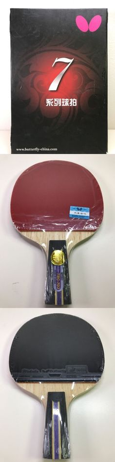 Paddles 36277: Butterfly Tbc703 Table Tennis Ping Pong Racket Paddle Bat Blade Pen Hold -> BUY IT NOW ONLY: $60 on eBay!