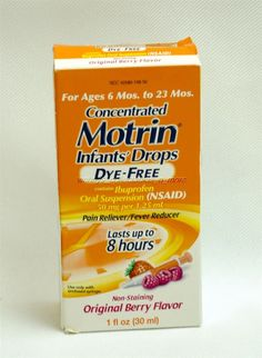 Motrin Concentrated Infants' Drops