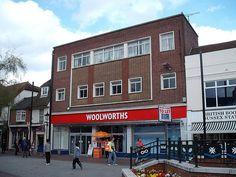 Woolworths, Ashford, Kent by Pat Linsley, via Flickr