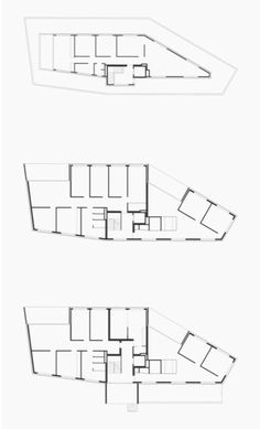 Peter Märkli - Wohnhaus, Brig Urban Architecture, Urban Design, House Plans, Floor Plans, How To Plan, Conception, Drawings, Playground, Architects
