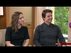 Tom Cruise & Emily Blunt Interview - Edge of Tomorrow - Breakfast - http://maxblog.com/10016/tom-cruise-emily-blunt-interview-edge-of-tomorrow-breakfast/