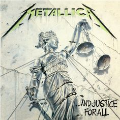 And Justice for All is the fourth studio album by American heavy metal band Metallica, released on August 25, 1988, by Elektra Records. It was their first album to feature bassist Jason Newsted, following the death of Cliff Burton in 1986. The cover art was created by Stephen Gorman, based on a concept developed by James Hetfield and Lars Ulrich.
