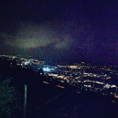 Trento's night view