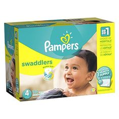 Pampers Swaddlers Diapers Size 4, 164 Count (One Month Supply). For product info go to: https://all4babies.co.business/pampers-swaddlers-diapers-size-4-164-count-one-month-supply/