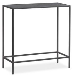 Slim End Tables in Colors - End Tables - Living - Room & Board - console in entry