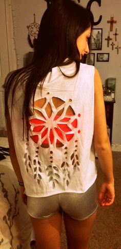 DIY dreamcatcher t-shirt