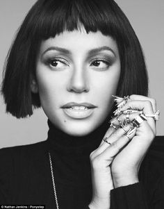 Girlfriend Has Got Game!!! After Being Named 'Queen of British TV', Mel B (@OfficialMelB) Rocks A Hot Edgy Choppy Bob Look For A New Photoshoot In Pony Step Magazine. #DivasLove  Photo Credit: Nathan Jenkins.