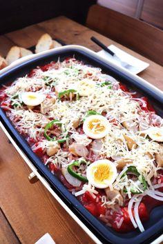 休日にオススメ!ホットプレートで楽々ごはん(主にランチ)をまとめてご紹介します。 | たっきーママ オフィシャルブログ「たっきーママ@Happy Kitchen」Powered by Ameba Looks Yummy, Food Lists, Bento, Cobb Salad, Food And Drink, Lunch, Cooking, Easy, Recipes