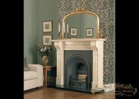 Buckingham gold overmantel mirrors from Ornamental Mirrors Limited.   Design by CastTech