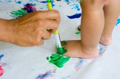 Toddler art party!