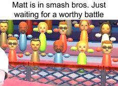 See more 'Matt Mii' images on Know Your Meme! Really Funny Memes, Stupid Funny Memes, Funny Posts, Haha Funny, Video Game Memes, Video Games Funny, Funny Games, Dark Humour Memes, Dankest Memes