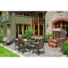 Ausziehtisch Mit Teakholzplatte   Ihr Online Shop Für Exklusive Gartenmöbel    #Garten #Moebel | Aluminiummöbel | Pinterest