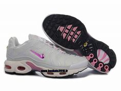 Nike Air Max Tn Requin Tuned 1 Chaussures Baskets2016 Pas Cher Pour Femme Gray - Rose