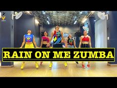Rain On Me   Zumba Dance Workout   Lady Gaga, Ariana Grande   Easy Steps   Vishal Choreography - YouTube Cardio Dance, Zumba, Now Song, Exercises, Workouts, Lady Gaga, Ariana Grande, Fit Women, Rain