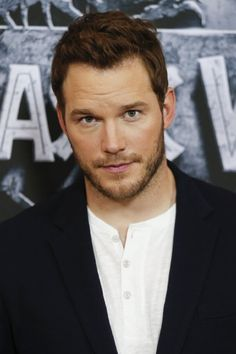 I think I might write a character based on Chris Pratt for my series in Clear Water Tx. Here he is at event of Jurassic World (2015) -
