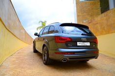 Audi Q7 TDI S-Line offered for rental by Monaco Car Hire. To hire this car just call us: +34 952 773943