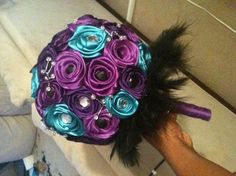 I made a ribbon rose. Yay!!!**Update** | Weddings, Style and Decor, Do It Yourself, Fun Stuff | Wedding Forums | WeddingWire