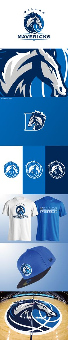 Dallas Mavericks logo concept by Yu Masuda