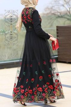 Plus size Modest Dresses Islamic Fashion, Muslim Fashion, Modest Fashion, Fashion Dresses, Modest Dresses, Nice Dresses, Casual Dresses, Casual Clothes, Mode Abaya