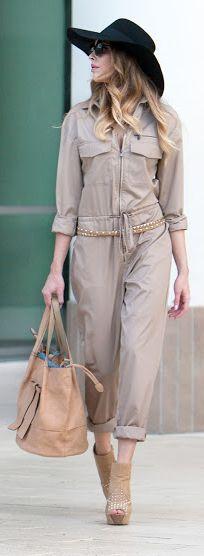Blush Urban Safari Outfit