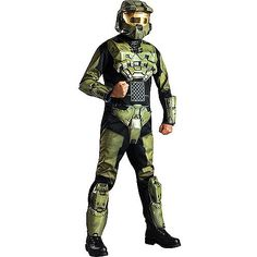 Halo Master Chief Classic Muscle Child Dress Up / Halloween Costume - Walmart.com