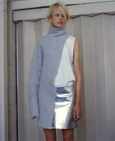 Caroline Schurch @Susan Caron Caron Caron Caron Caron Schmidt Models, SSAW magazine issue 2, Styling: Adam Winder, Hair: Kazhiro Naka, Make-up: Nami Yoshida
